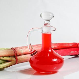 Rhubarb Syrup.