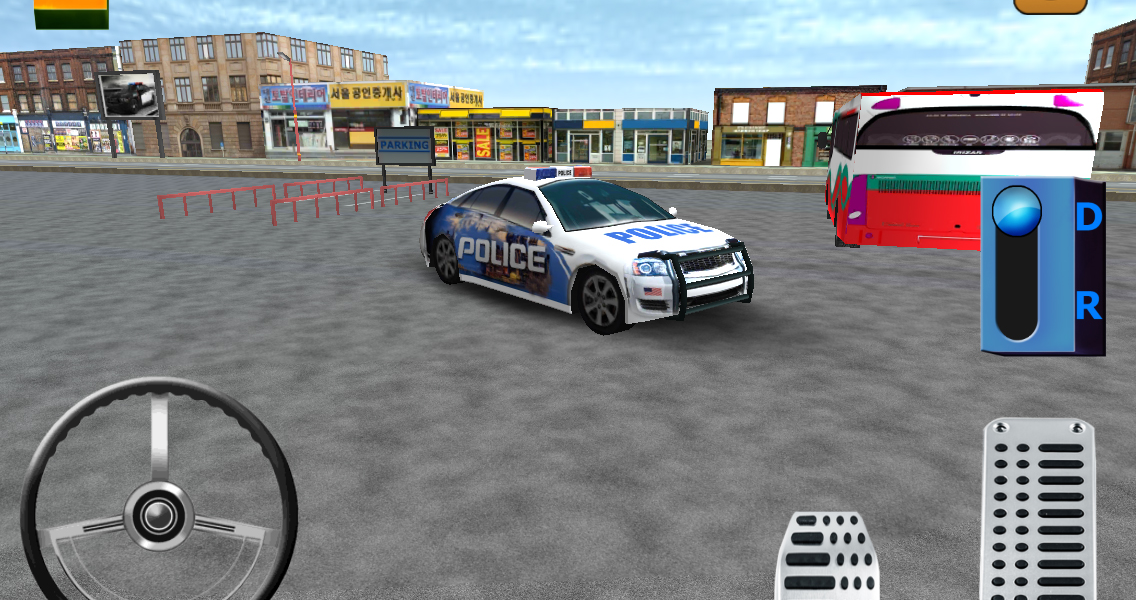 Parking 3D - Police Edition - screenshot