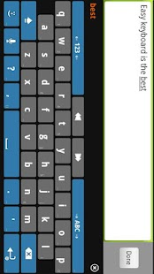 Easy Keyboard Custom IME - screenshot thumbnail