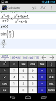 Screenshot of MathAlly Graphing Calculator
