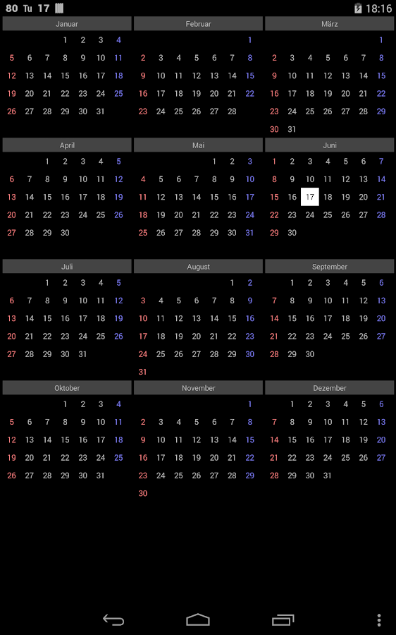Year Calendar Google : Month year calendar android apps on google play