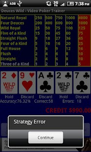 Video Poker - Deuces Wild- screenshot thumbnail