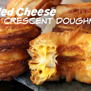 ~Grilled Cheese Crescent Doughnuts!.