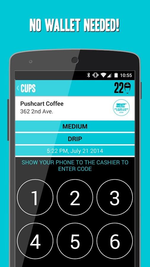 CUPS - Unlimited Coffee - screenshot