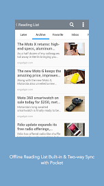 Mercury - Browser for Android Screenshot 3