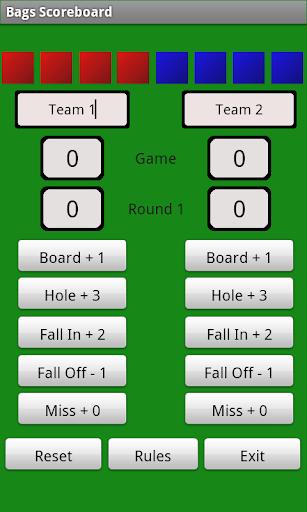 Bags Score Board