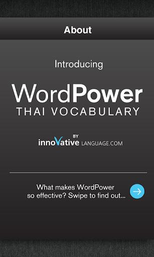 Learn Thai WordPower