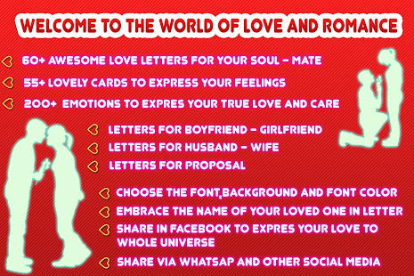Romantic love letters apps on google play screenshot image spiritdancerdesigns Image collections