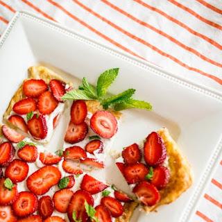Strawberry Mint Tart.