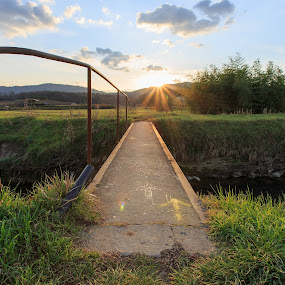 Little bridge by Ricky Papex - Landscapes Prairies, Meadows & Fields ( canon, tuscany, florence, pistoia, 6d, italy,  )