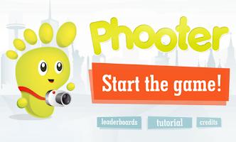 Screenshot of Phooter Flickr Photo Shooter