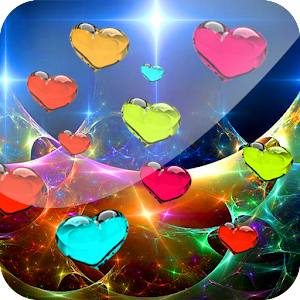 Download The 3d Love Hearts Live Wallpaper Android Apps On
