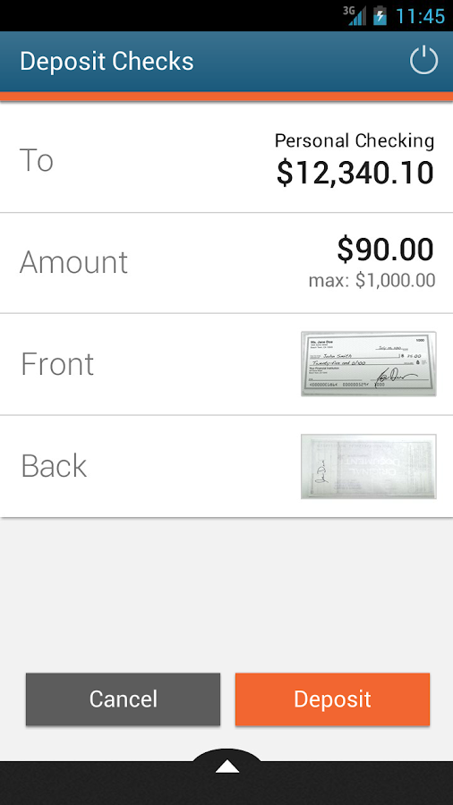 GE Credit Union Mobile Banking - screenshot