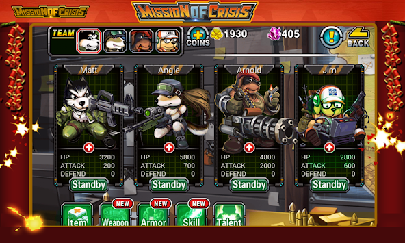 Heroes Team apk screenshot