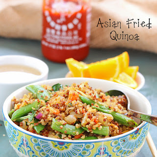 Asian Fried Quinoa