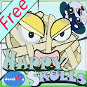 Happy Skulls 1 - Free Version icon