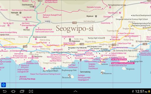 Jeju Tour Map