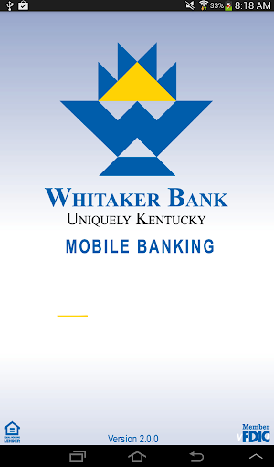 Whitaker Bank Mobile