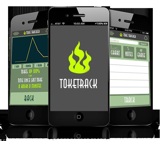 Toke Track App plus Weed Chat! - screenshot