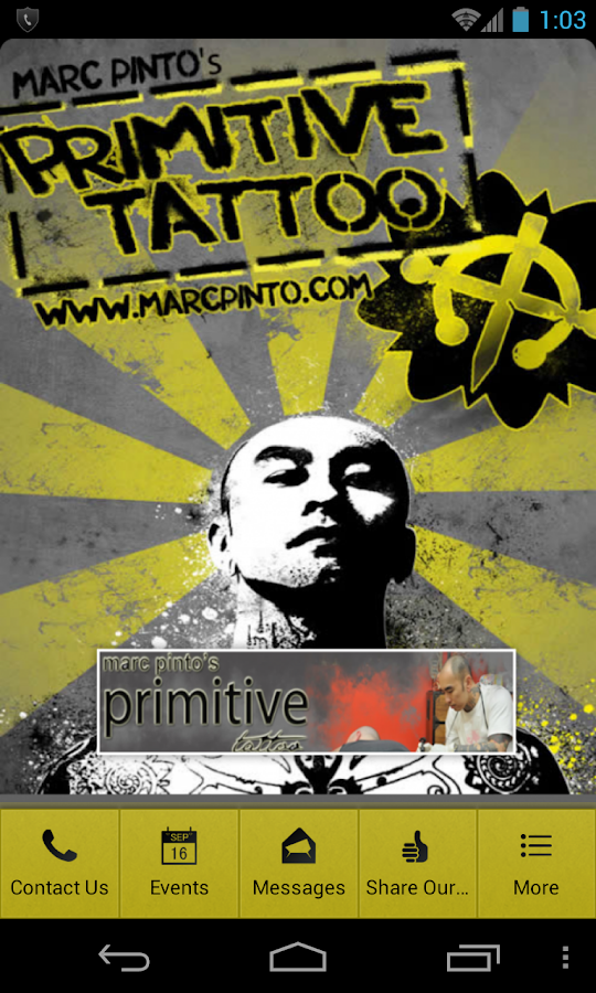 Primitive Tattoo- screenshot