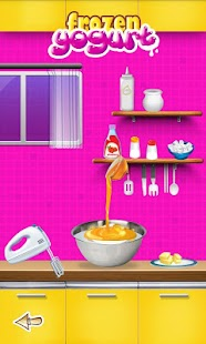 Frozen Yogurt Maker -Kids Game - screenshot thumbnail