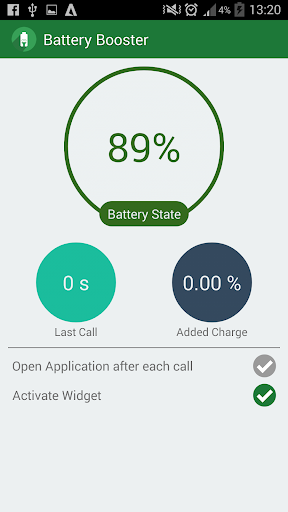 Boost Battery During Calls