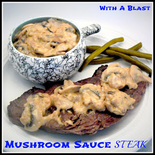 Mushroom Sauce Steak Recipes.