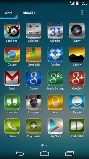 Glass - Icon Pack  screenshots 5