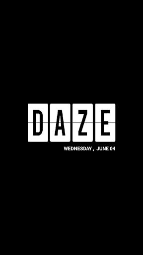 DAZE Photo Calendar