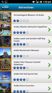 Aruba Offline Map Travel Guide - náhled