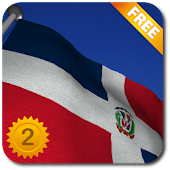 Dominican Republic Flag - LWP