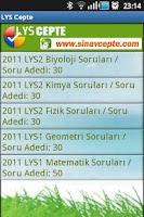 Screenshot of LYS Cepte