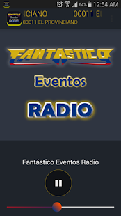 Fantástico Eventos Radio- screenshot thumbnail