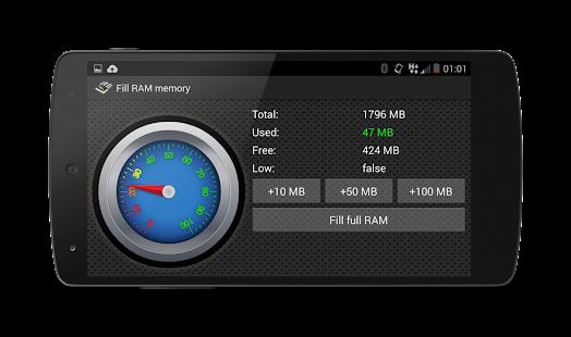 Fill RAM Memory Ad free- screenshot thumbnail