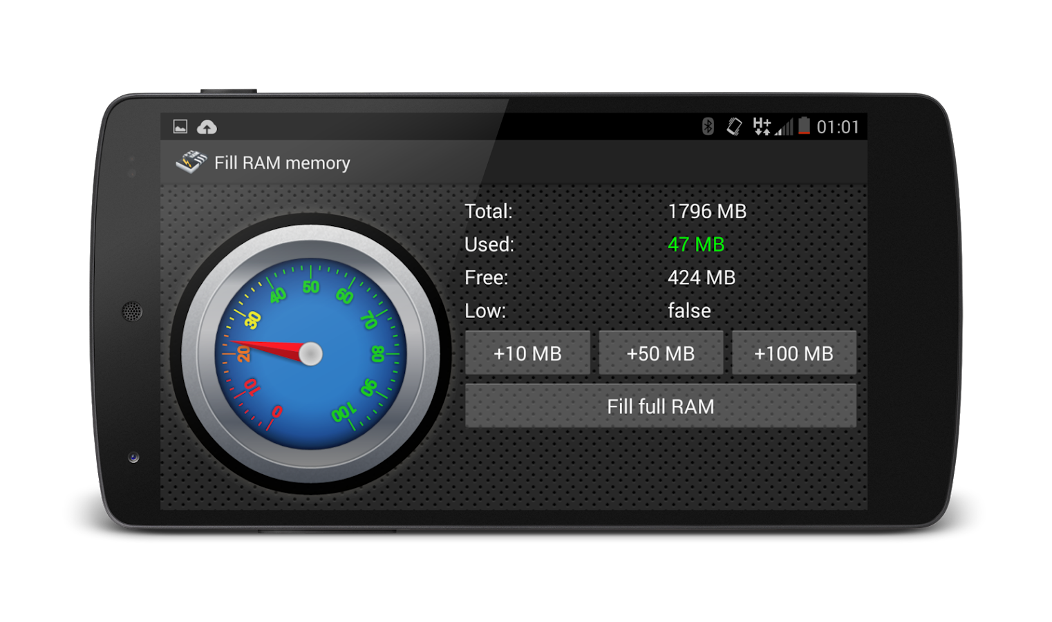 Fill RAM Memory Ad free- screenshot