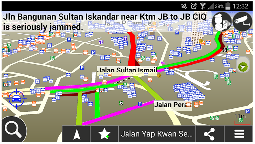 MapKing Traffic Navigation-MY