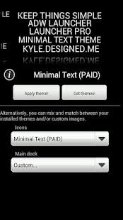 Minimal Text THEME - PAID- screenshot thumbnail