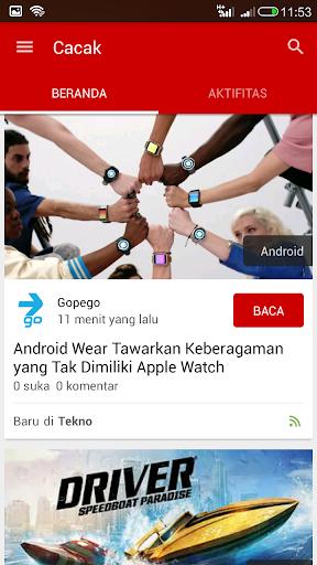Cacak: Aplikasi Berita Anda