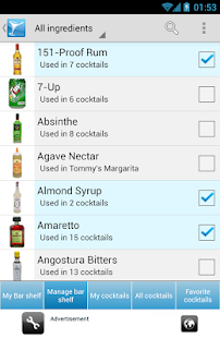 My Cocktail Bar Drink Recipes - screenshot thumbnail