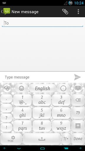 玩個人化App|ホワイトパールのキーボード免費|APP試玩