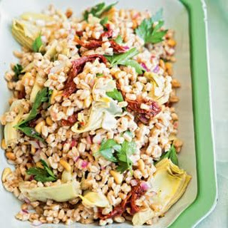 Farro Salad with Artichoke Hearts