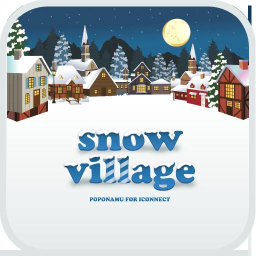 snow village go launcher theme LOGO-APP點子