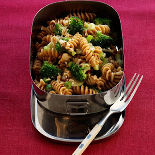 Pasta Salad with Broccoli and Peanuts