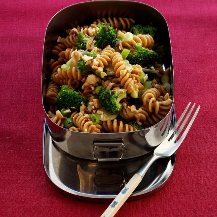 Pasta Salad with Broccoli and Peanuts Recipe