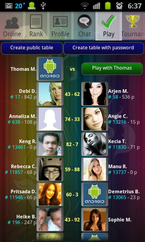Spades Online Tournament! FREE - screenshot