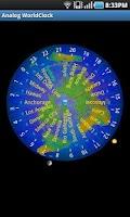 Screenshot of Analog World Clock