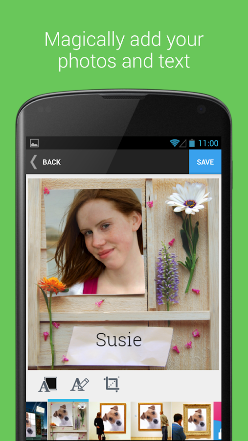 ImageChef - fun with photos- screenshot