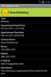 My Appointment Manager screenshot 4