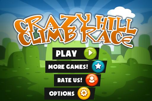 Crazy Hill Climb Race