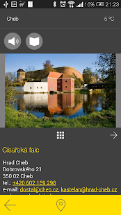 Cheb - audio tour- screenshot thumbnail